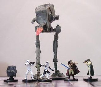 Star Wars Miniatures - Figures from the Star Wars Miniatures game