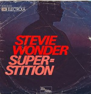 Superstition (song) - Image: Stevie wonder superstition single