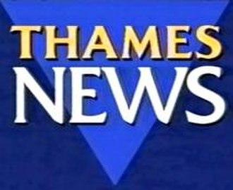 Thames News - Image: Thames News logo