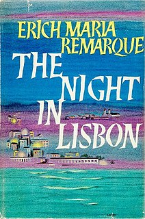 <i>The Night in Lisbon</i> book