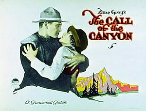 The Call of the Canyon - Image: The Call of the Canyon Poster
