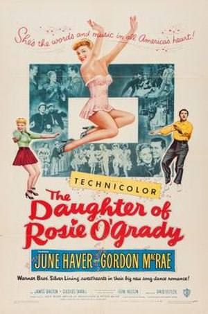 The Daughter of Rosie O'Grady - theatrical poster