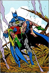 Batman Carries Jason Todds Body In 428 1988 A Death The Family Art By Jim Aparo