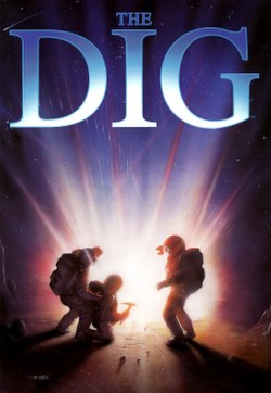 The cover artwork for The Dig