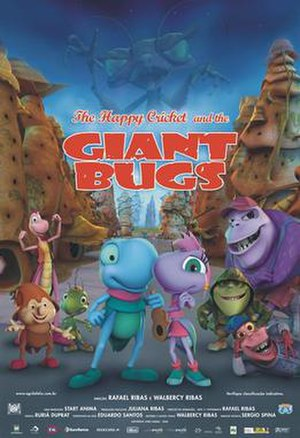 The Happy Cricket and the Giant Bugs - Image: The Happy Cricket and the Giant Bugs