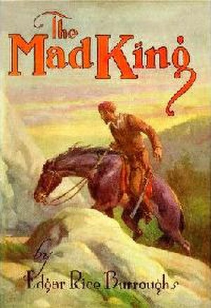 The Mad King - Dust jacket from the first edition of The Mad King