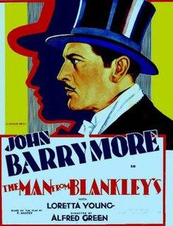 <i>The Man from Blankleys</i> 1930 film