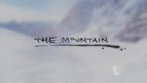 The Mountain (TV series) - The Mountain intertitle