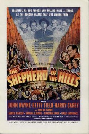 The Shepherd of the Hills (film) - Film poster