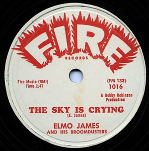 The Sky Is Crying (song) - Image: The Sky Is Crying single cover