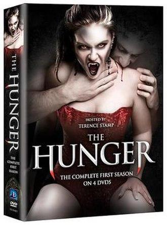 The Hunger (TV series) - DVD cover (1st season)