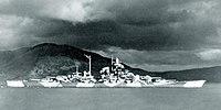 Tirpitz v roce 1943 nebo 1944