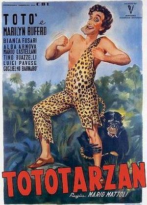 Totò Tarzan - Film poster