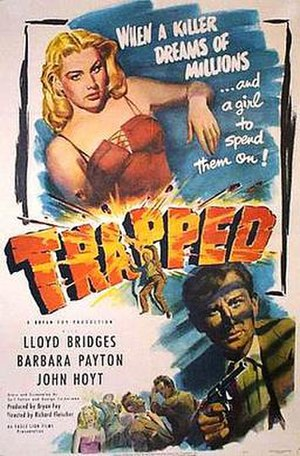 Trapped (1949 film) - Theatrical release poster