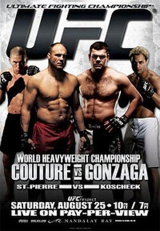 UFC 74 - Image: UFC 74 Respect Poster
