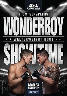 UFC Fight Night: Thompson vs  Pettis - Wikipedia