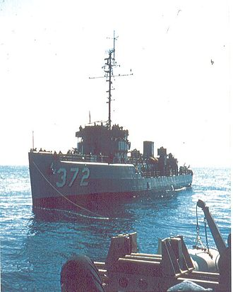 BRP Rizal (PS-74) - as USS Murrelet (AM-372).