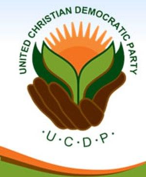 United Christian Democratic Party - Image: Ucdplogo