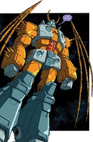 Unicron - Unicron as depicted in IDW Publishing.