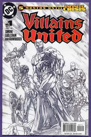 Dale Eaglesham - Image: Villains 1c