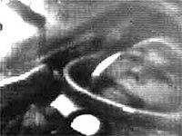 Yuri Gagarin in Vostok 1