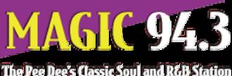 WCMG - Image: WCMG Magic 94.3 logo