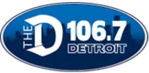 WDTW-FM - The D logo, 2011-17