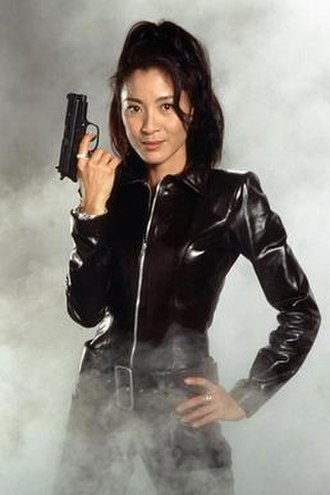 Wai Lin - Michelle Yeoh as Wai Lin in a promotional photo for Tomorrow Never Dies
