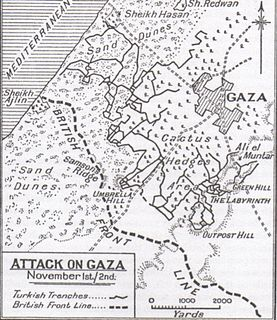 Third Battle of Gaza battle