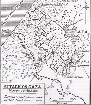 Gaza attacks on 1 and 2 November