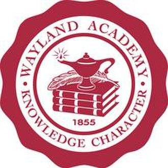 Wayland Academy, Wisconsin - Image: Wayland Academy logo
