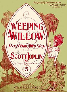 Weeping Willow (rag) ragtime composition by Scott Joplin