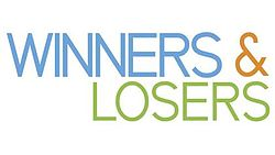 The title logo of Winners & Losers