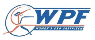 1997 Women's Pro Fastpitch season - Image: Women's Pro Fastpitch logo