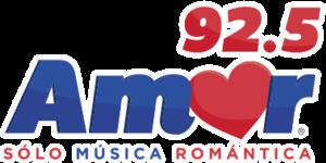 XHRJ-FM - Image: XHRJ Amor 92.5 logo