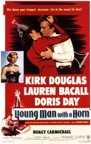 Young Man with a Horn (film) - Theatrical release poster