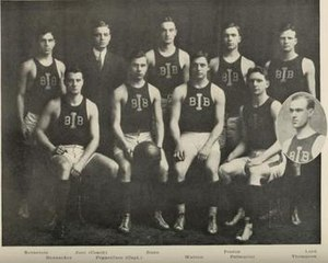 1908–09 Illinois Fighting Illini men's basketball team - Image: 1908 09 Fighting Illini men's basketball team