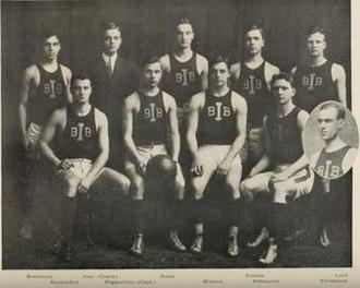 1908–09 Illinois Fighting Illini men's basketball team - Image: 1908 09 Fighting Illini men's basketball team