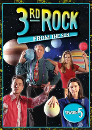 3rd Rock from the Sun (season 5) - DVD cover