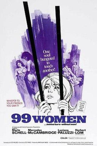 99 Women - Image: 99 Women poster
