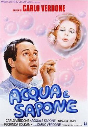 Acqua e sapone - Italian theatrical release poster by Renato Casaro