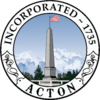Official seal of Acton