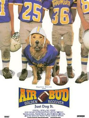Air Bud: Golden Receiver - Theatrical release poster