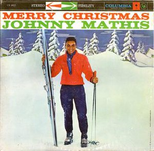 Merry Christmas (Johnny Mathis album) - Image: Album Johnny Mathis Merry Christmas cover
