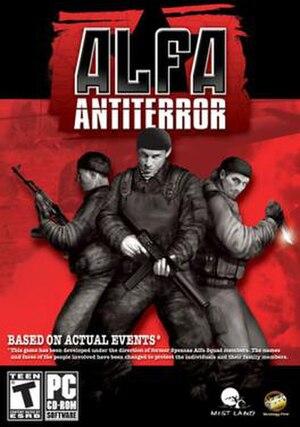 Alfa: Antiterror - Alfa Antiterror box art