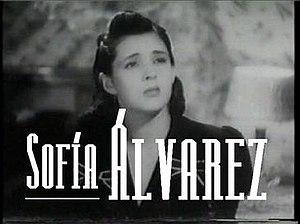 Sofía Álvarez - in Ahí está el detalle (1940)