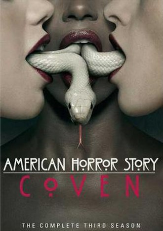 American Horror Story: Coven - Promotional poster and home media cover art