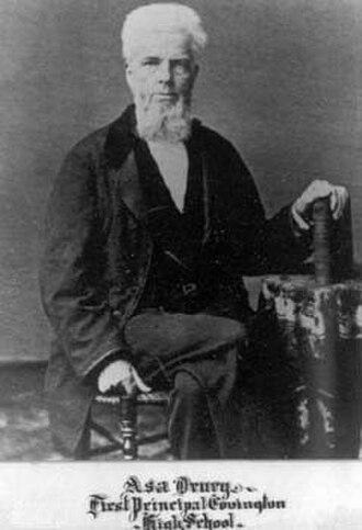 Asa Drury - Asa Drury ca. 1865