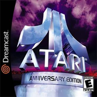 Atari Anniversary Edition - North American Dreamcast cover art