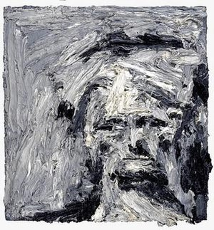 Frank Auerbach - Head of E.O.W. IV, 1961, National Gallery of Scotland.